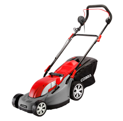 Electric Lawnmower with Rear Roller